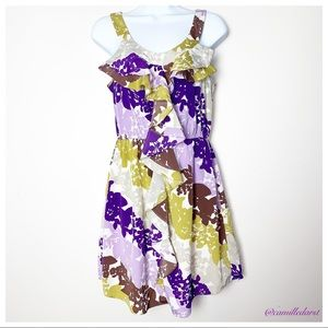 Elle Dresses - 💲5for$25💲 ELLE | Floral Ruffle Dress